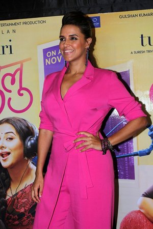 Neha Dhupia @ Photos: Special Screening Of Tumhari Sulu