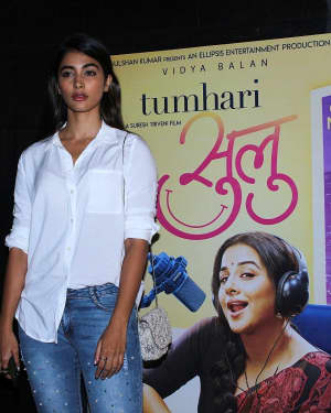 Pooja Hegde - Photos: Special Screening Of Tumhari Sulu