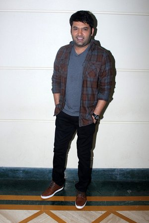 Kapil Sharma @ Photos: Promotional Interview For Film Firangi