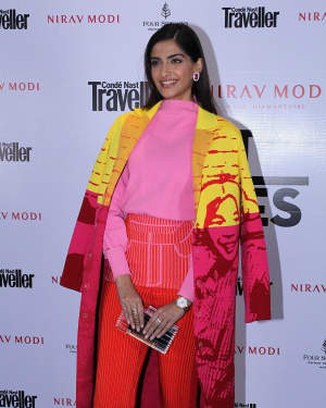 Photos: Sonam Kapoor At Red Carpet Of Condé Nast Traveller Signature Property