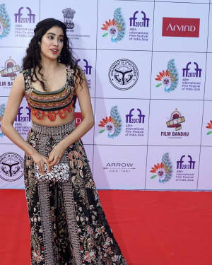 Jahnavi Kapoor - Photos: Celebs at IFFI 2017 Opening Ceremony