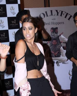 Nia Sharma - In Pics: Launch Of Bollyfit with Desi Hoppers