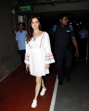 In Pics: Dia Mirza Snapped At Mumbai Airport   Picture 1534415