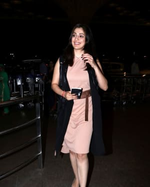 In Pics: Raai Laxmi Snapped at Mumbai Airport