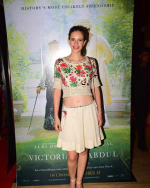Kalki Koechlin - In Pics: Special Screening Of Victoria And Abdul