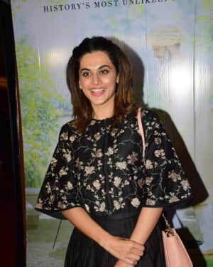 Taapsee Pannu - In Pics: Special Screening Of Victoria And Abdul