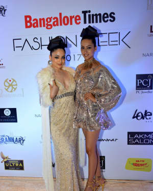 In Pics: Celebs Walks Ramp At 1st Edition Of Bangalore Times Fashion Week