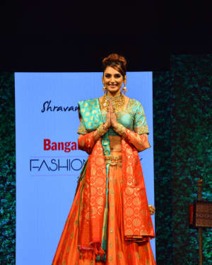 Ragini Dwivedi - In Pics: Celebs Walks Ramp At 1st Edition Of Bangalore Times Fashion Week