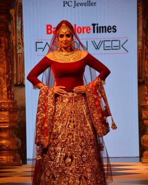Sridevi Kapoor - In Pics: Celebs Walks Ramp At 1st Edition Of Bangalore Times Fashion Week