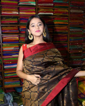 In Pics: Helly Shah At Store Launch Of Sundari Silks | Picture 1535215