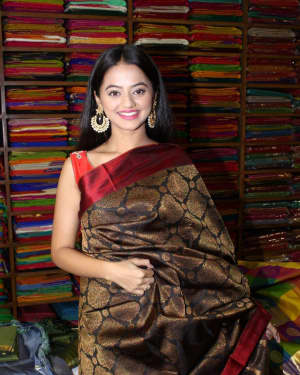 In Pics: Helly Shah At Store Launch Of Sundari Silks | Picture 1535217