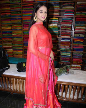 In Pics: Helly Shah At Store Launch Of Sundari Silks | Picture 1535211