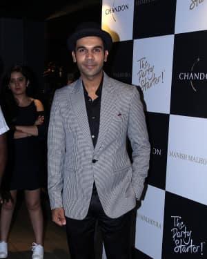 Rajkummar Rao - In Pics: Launch Of Manish Malhotra X Chandon Limited Edition End Of Year 2017 Bottles