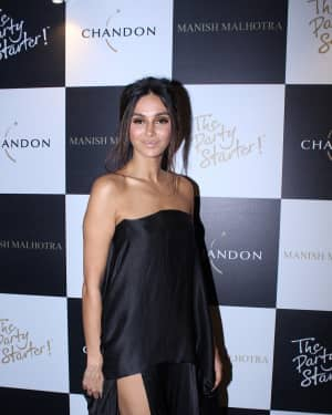 Shibani Dandekar - In Pics: Launch Of Manish Malhotra X Chandon Limited Edition End Of Year 2017 Bottles