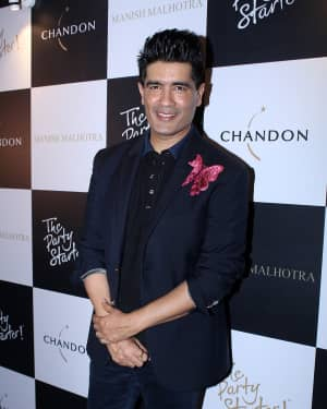 Manish Malhotra - In Pics: Launch Of Manish Malhotra X Chandon Limited Edition End Of Year 2017 Bottles