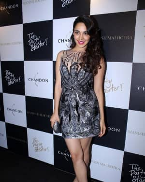 Kiara Advani - In Pics: Launch Of Manish Malhotra X Chandon Limited Edition End Of Year 2017 Bottles