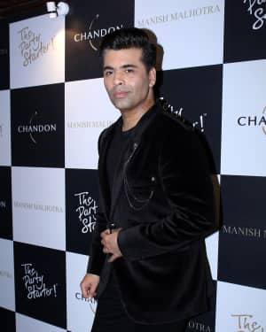 Karan Johar - In Pics: Launch Of Manish Malhotra X Chandon Limited Edition End Of Year 2017 Bottles