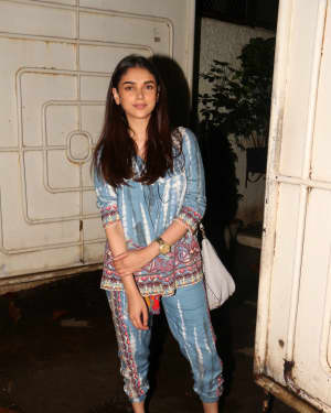 Aditi Rao Hydari - In Pics: Screening Of South Indian Film Solo