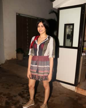 Adah Sharma - In Pics: Screening Of South Indian Film Solo