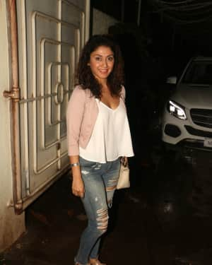Manjari Fadnis - In Pics: Screening Of South Indian Film Solo