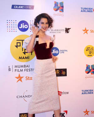 Kangana Ranaut - In Pics:  Jio Mami Film Mela 2017
