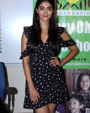 In Pics: Pooja Hegde Celebrate Her Birthday With Smile Foundation Kids