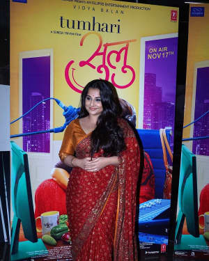 Vidya Balan - In Pics: Trailer Launch Of Film Tumhari Sulu | Picture 1536699
