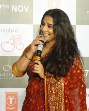 Vidya Balan - In Pics: Trailer Launch Of Film Tumhari Sulu | Picture 1536704