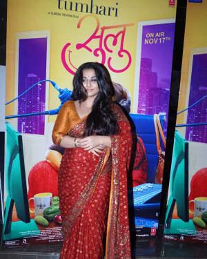 Vidya Balan - In Pics: Trailer Launch Of Film Tumhari Sulu | Picture 1536698