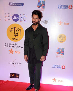 Shahid Kapoor - In Pics: Closing Ceremony Of Jio Mami 19th Mumbai Film Festival