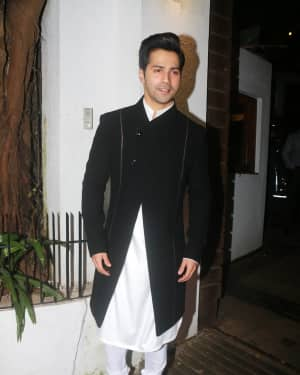 Varun Dhawan - In Pics: Aamir Khan Hosts Diwali Party