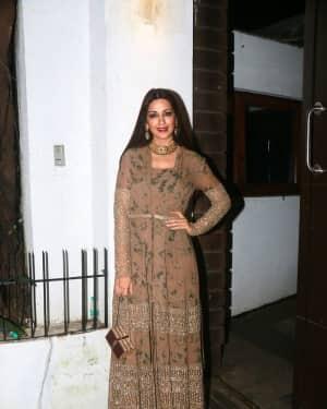 Sonali Bendre - In Pics: Aamir Khan Hosts Diwali Party