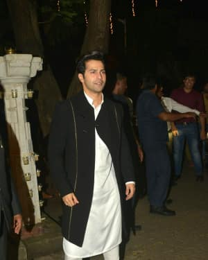 Varun Dhawan - In Pics: Anil Kapoor Hosts Diwali Party