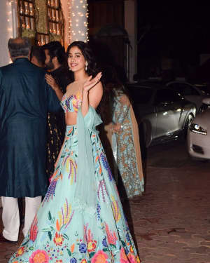 Janhvi Kapoor - In Pics: Shilpa Shetty Hosts Diwali Party | Picture 1538340