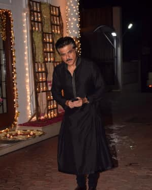Anil Kapoor - In Pics: Shilpa Shetty Hosts Diwali Party