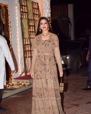 Sonali Bendre - In Pics: Shilpa Shetty Hosts Diwali Party