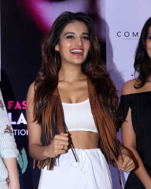 Nidhi Agarwal - In Pics: Press Conference Of India Beach Fashion Week