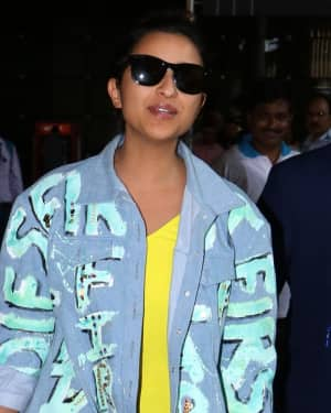 In Pics: Parineeti Chopra Spotted At Mumbai Airport
