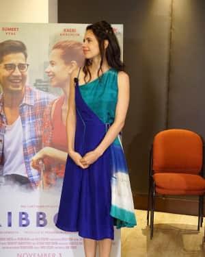 Kalki Koechlin - In Pics: Kalki Koechlin, Sumeet Vyas Spotted Promoting Movie Ribbon