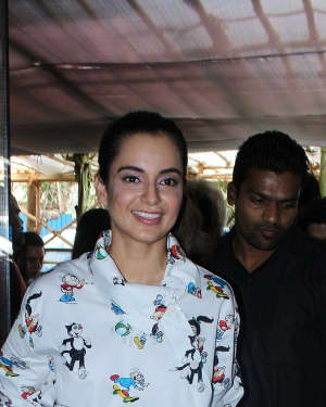 In Pics: Song Launch Of Film Simran With Kangana Ranaut | Picture 1525238