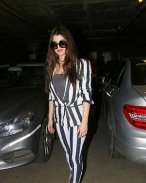 In Pics: Kainaat Arora Spotted At Mumbai Airport