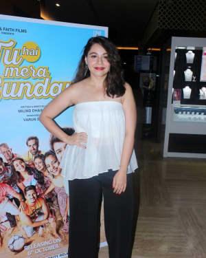 Maanvi Gagroo - In Pics: Trailer Launch Of Film Tu Hai Mera Sunday | Picture 1526075