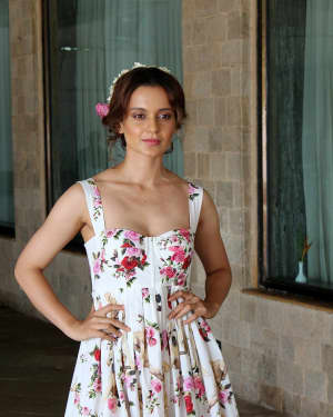 In Pics: Kangana Ranaut during Promotional Interview of Film Simran | Picture 1526581