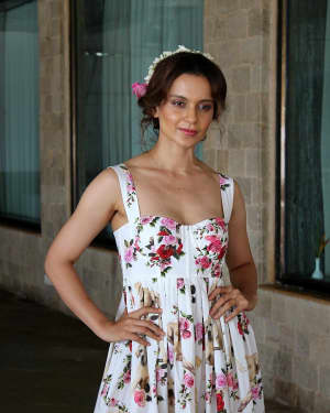 In Pics: Kangana Ranaut during Promotional Interview of Film Simran | Picture 1526577