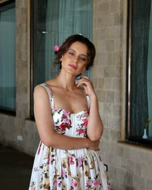 In Pics: Kangana Ranaut during Promotional Interview of Film Simran | Picture 1526576