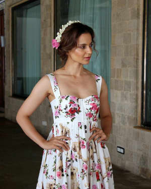 In Pics: Kangana Ranaut during Promotional Interview of Film Simran | Picture 1526578