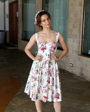 In Pics: Kangana Ranaut during Promotional Interview of Film Simran | Picture 1526575