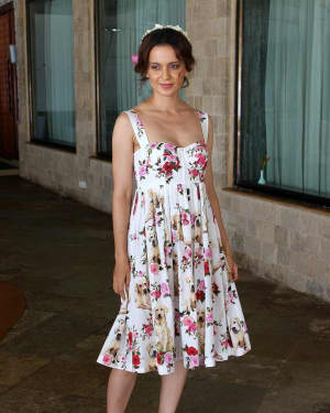 In Pics: Kangana Ranaut during Promotional Interview of Film Simran | Picture 1526580