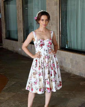 In Pics: Kangana Ranaut during Promotional Interview of Film Simran | Picture 1526573