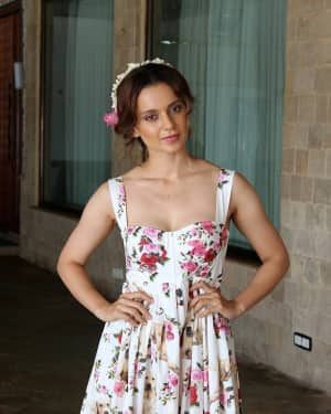 In Pics: Kangana Ranaut during Promotional Interview of Film Simran | Picture 1526574